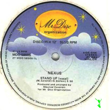 Nexus - Stand Up (Vinyl, 12'') 1983