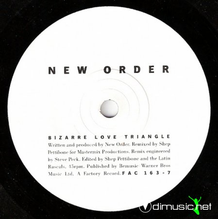 New Order - Bizarre Love Triangle (Vinyl, 12'') 1986