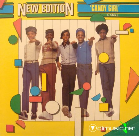 New Edition - Candy Girl (Vinyl, 12'') 1983