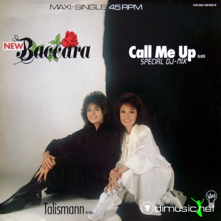 New Baccara - Call Me Up (Special DJ-Mix) (Vinyl, 12'') 1987
