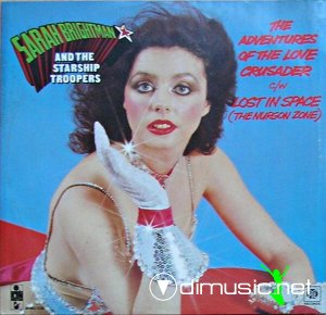 Sarah Brightman and Starship Troopers, The - The Adventures Of The Love Crusader (Vinyl, 12'') 1979