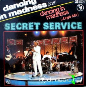 Cover Album of Secret Service - Dancing In Madness (Vinyl, 12'') 1982