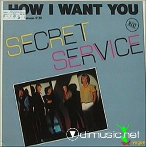 Secret Service - How I Want You (Vinyl, 12'') 1984