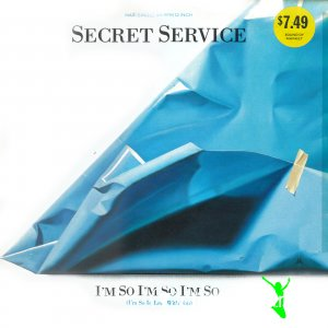 Secret Service - I'm So, I'm So, I'm So (I'm So In Love With You) (Vinyl, 12'') 1987
