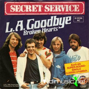 Secret Service - L.A. Goodbye (Vinyl, 12'') 1981