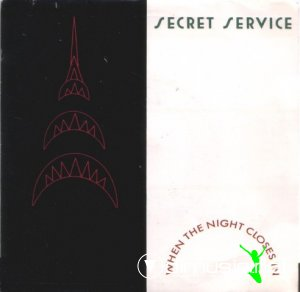Secret Service - When The Night Closes In (Vinyl, 7'') 1985