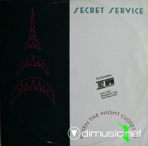 Secret Service - When The Night Closes In (Vinyl, 12'') 1985
