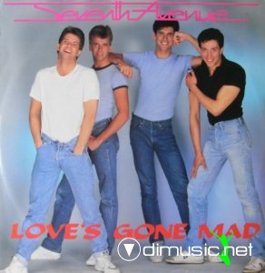Seventh Avenue - Love's Gone Mad (Vinyl, 12'') 1985