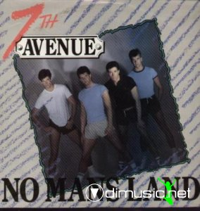 Cover Album of Seventh Avenue - No Mans Land / Ending Up On A High (Vinyl, 12'') 1986