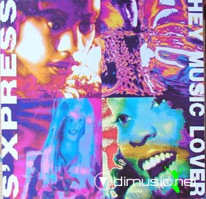 S'Express - Hey Music Lover (Vinyl, 12'') 1989