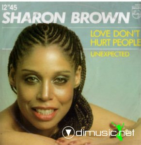 Sharon Brown - Love Don't Hurt People (Vinyl, 12'') 1982