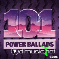 101 Power Ballads 6cds