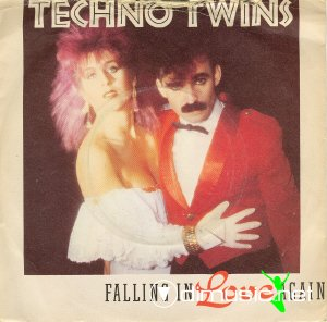 Techno Twins - Falling In Love Again (Vinyl, 7'') 1981