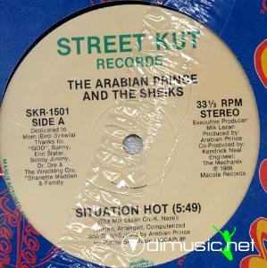 The Arabian Prince & The Sheiks - Situation Hot (Vinyl, 12'') 1986