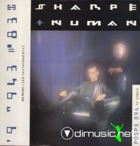 Sharpe & Numan - No More Lies (Vinyl, 12'') 1987