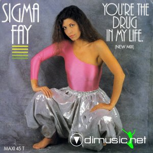 Sigma Fay - Alien Child / You're The Drug In My Life (Vinyl, 12'') 1983
