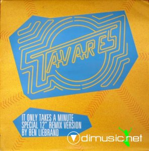 Tavares - It Only Takes A Minute (Remix By Ben Liebrand) (Vinyl, 12'') 1986