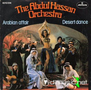 The Abdul Hassan Orchestra - Arabian Affair / Desert Dance (Vinyl, 7'') 1978