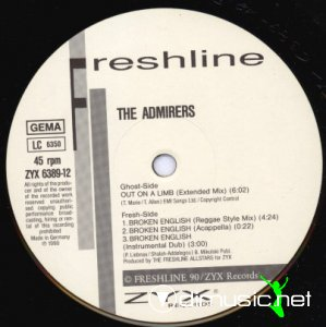 The Admirers - Out On A Limb (Vinyl, 12'') 1990
