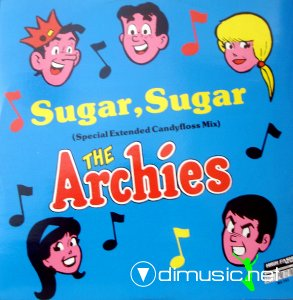 The Archies - Sugar, Sugar (Special Extended Candyfloss Mix) (Vinyl, 12'') 1987
