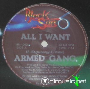 The Armed Gang - All I Want (Vinyl, 12'') 1982
