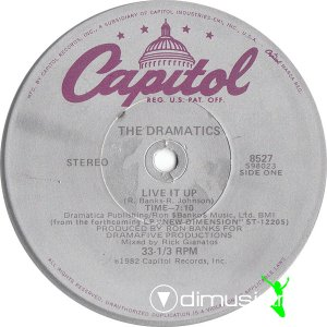 The Dramatics - Live It Up (Vinyl, 12'') 1982