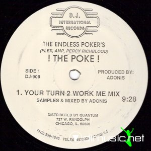 The Endless Poker's - ! The Poke ! (Vinyl, 12'') 1986