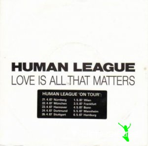The Human League - Love Is All That Matters (Vinyl, 7'') 1986