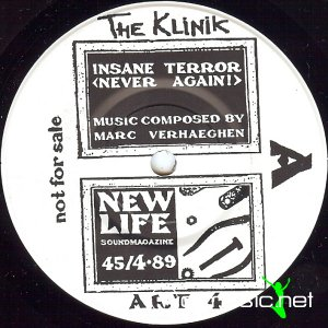 The Klinik - Insane Terror (Vinyl, 7'') 1989