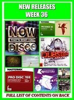 New Releases Mp3's Week 36