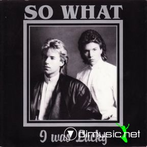 So What - I Was Lucky (Vinyl, 12'') 1988