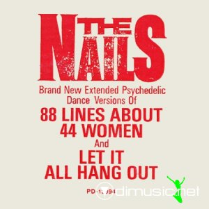 Cover Album of The Nails - Let It All Hang Out (Vinyl, 12'') 1985