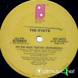 The O'Jays - Put Our Heads Together (Vinyl, 12'') 1983