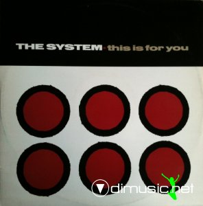 The System - This Is For You (Vinyl, 12'') 1985