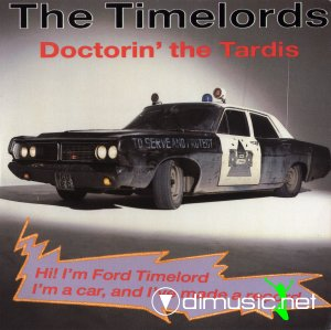 The Timelords - Doctorin' The Tardis (CD, Maxi-Single) 1988
