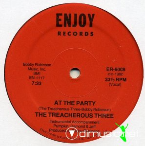 The Treacherous Three - At The Party (Vinyl, 12'') 1980