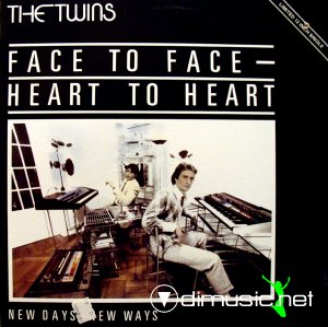 The Twins - Face To Face - Heart To Heart (Vinyl, 12'') 1983