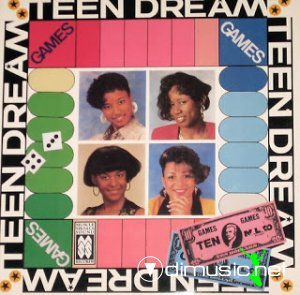 Teen Dream - Games (1989) LP