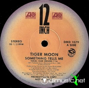 Tiger Moon - Something Tells Me (Vinyl, 12'') 1987
