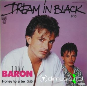 Tony Baron - Dream in Black (Vinyl, 12'') 1985