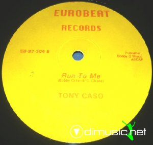 Tony Caso - Run To Me (Vinyl, 12'') 1987