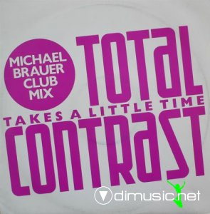 Total Contrast - Takes A Little Time (Vinyl, 12'') 1985