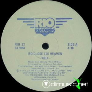 Trix - (So Close To) Heaven (Vinyl, 12'') 1981