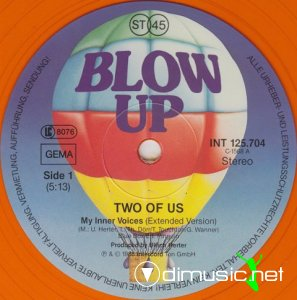 Two Of Us - My Inner Voices (Vinyl, 12'') 1988