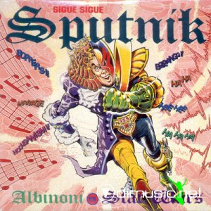 Sigue Sigue Sputnik - Albinoni Vs Star Wars (CD, Maxi-Single) 1989