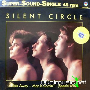 Silent Circle - Hide Away - Man Is Comin'! (Vinyl, 12'') 1985