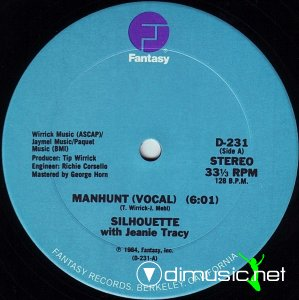 Silhouette With Jeanie Tracy - Manhunt (Vinyl, 12'') 1984
