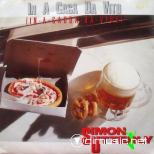 Simon Utterly - In-A-Gadda-Da-Vida (In A Casa Da Vito) (Vinyl, 12'') 1987