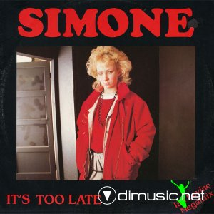 Simone - It's Too Late (Vinyl, 12'') 1984