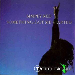 Simply Red - Something Got Me Started (Vinyl, 12'') 1991